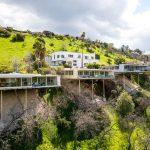 Stunning cliffside house built on stilts hits market